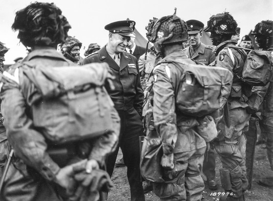 Ike and the Paratroopers