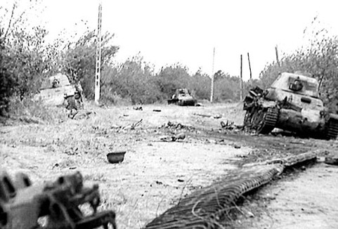 The Destroyed Tanks