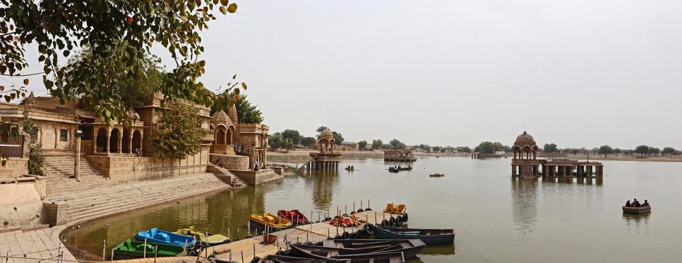 Gadisar Lake Pano