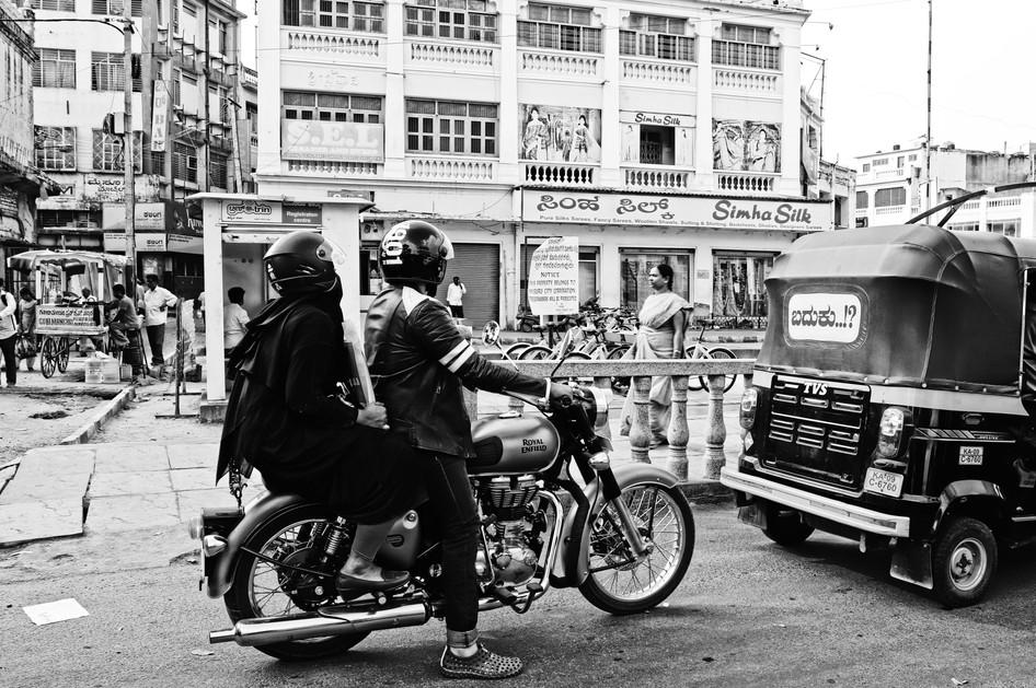 Mysore motorcycle