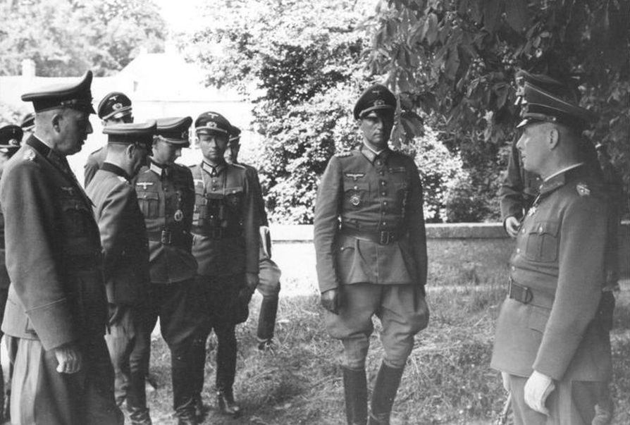 Rommel and Feuchtinger