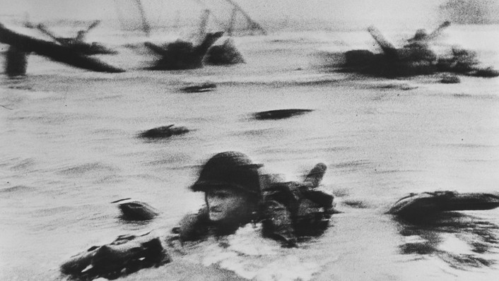Soldier in the Surf