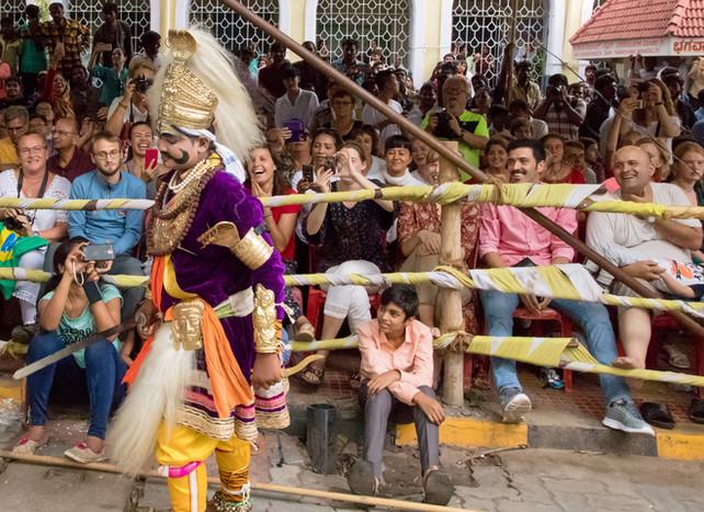 Indian folk artiste 2