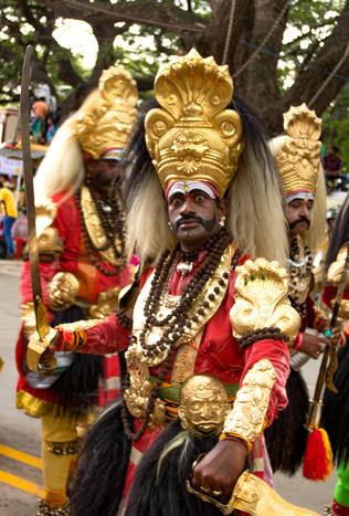 Indian folk artiste 3