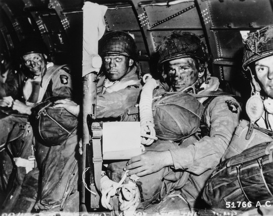 Paratroopers Ready to Go