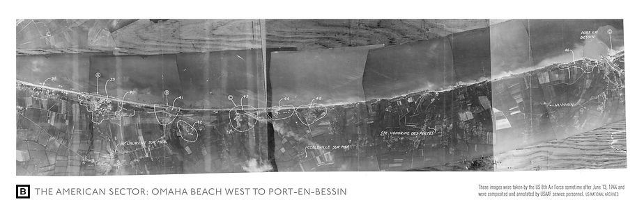 Aerial RG18 Mosaic of Normandy 2 (NARA)_