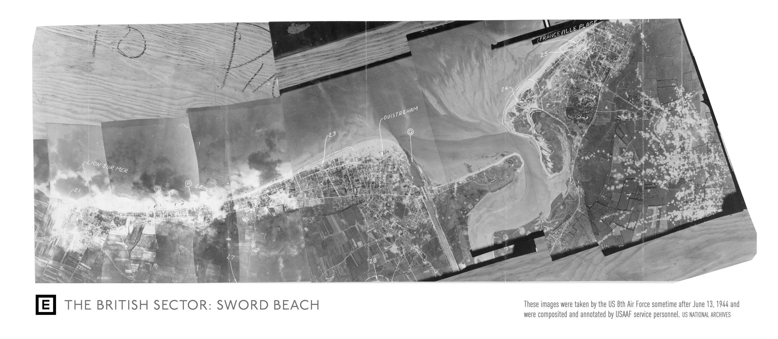 Sword Beach Sector