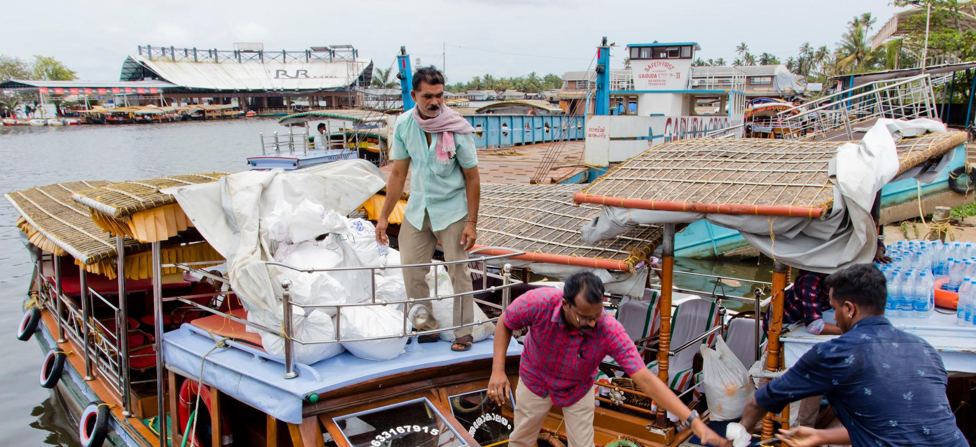 Flood aid