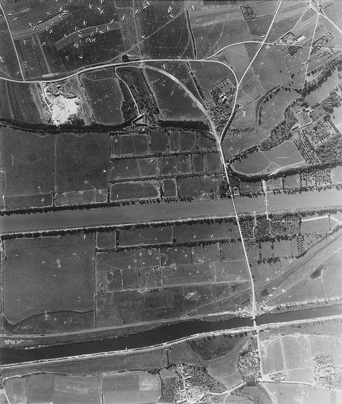 Aerial image of Ranville Bridge