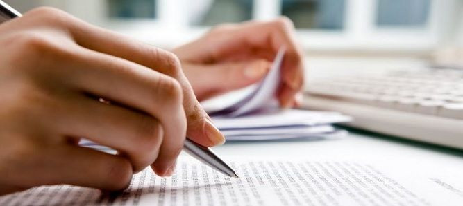 écriture de billets de blog