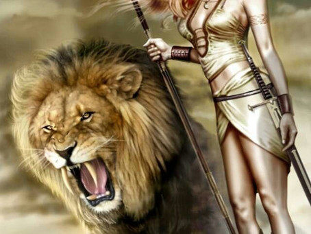 Him, the Lion, who tamed the Empress