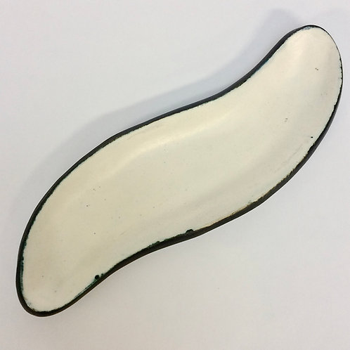 Free-Form Ceramic Dish By Suzanne Ramié for Madoura, circa 1950, France.