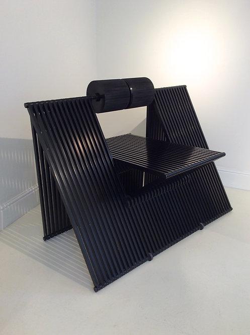 """Sculptural """"Quarta"""" Chair by Mario Botta for Alias, 1984, Italy"""