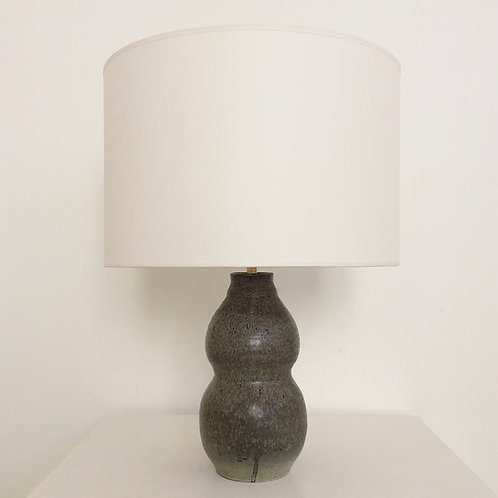 Scandinavian Mid-Century Ceramic Table Lamp, circa 1960, Denmark.
