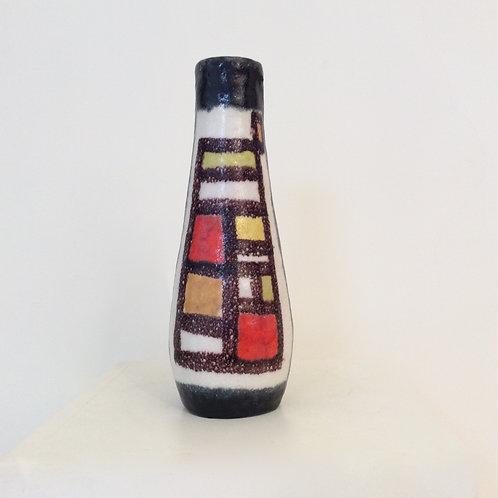 Guido Gambone Glazed Ceramic Vase, 1950s, Italy.