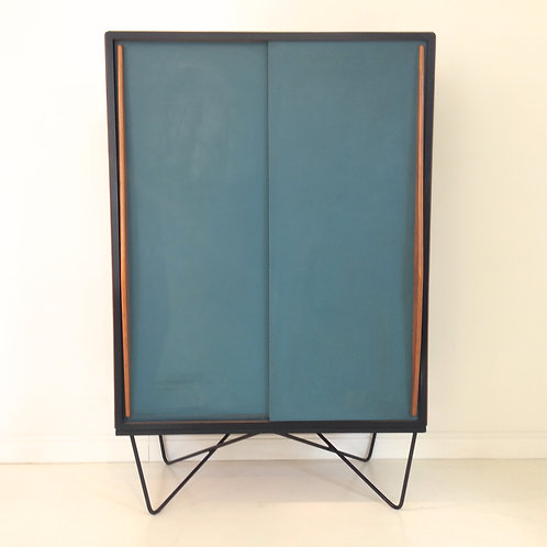 Willy Van Der Meeren Large Cabinet, circa 1950, Belgium.