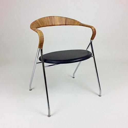 H.Eichenberger Saffa HE-103 chair for Dietiker, 1955, Switzerland.