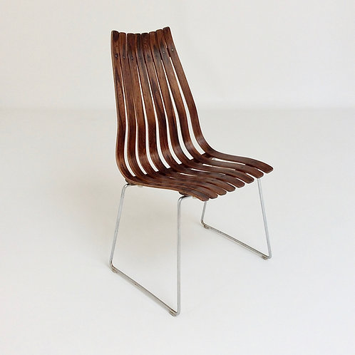 Hans Brattrud Scandia Chair for Hove Mobler circa 1956, Norway.