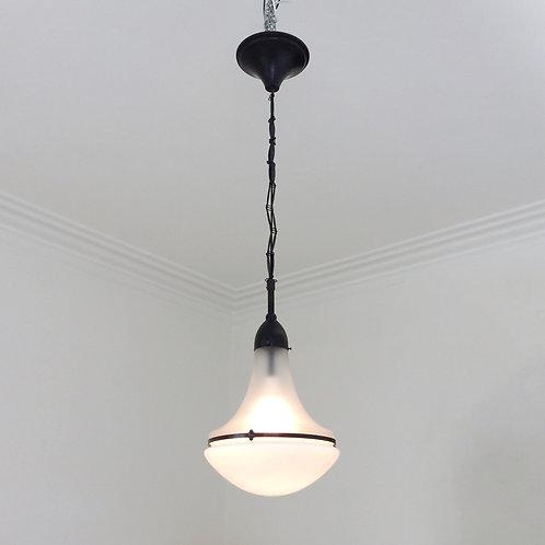 Peter Behrens Luzette Pendant Lamp, circa 1910, Germany.