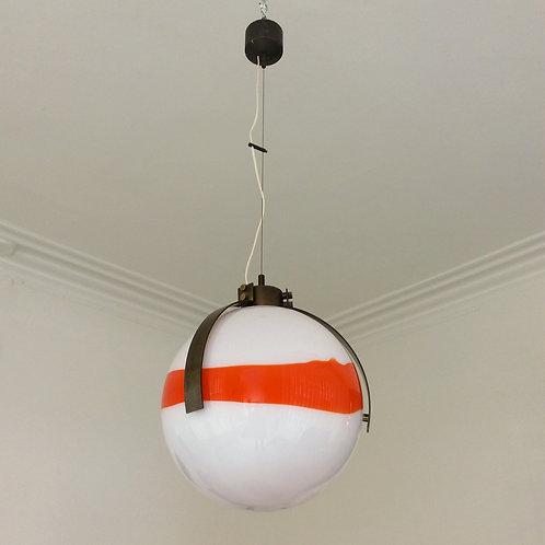Venini Hanging Lamp,by L.D. De Santillana, circa 1960, Italy.