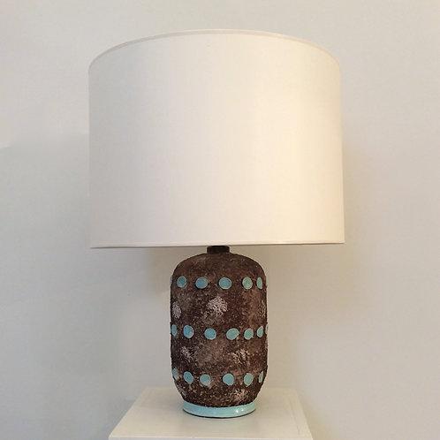 Ceramic Table Lamp, circa 1940, France.