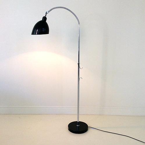 Christian Dell Floor Lamp, circa 1930, Switzerland.