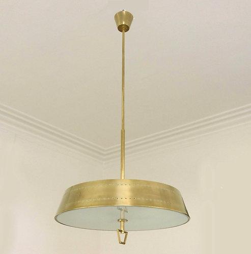 Stilnovo Hanging Lamp, Italy, circa 1950.