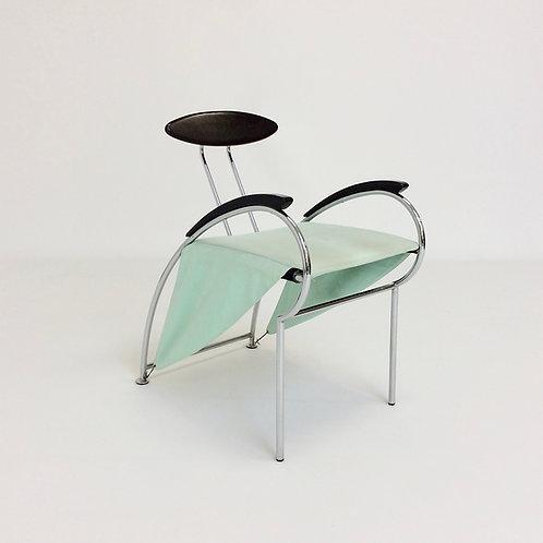 Massimo Iosa Ghini Post-Modern Armchair for Moroso, 1988, Italy.