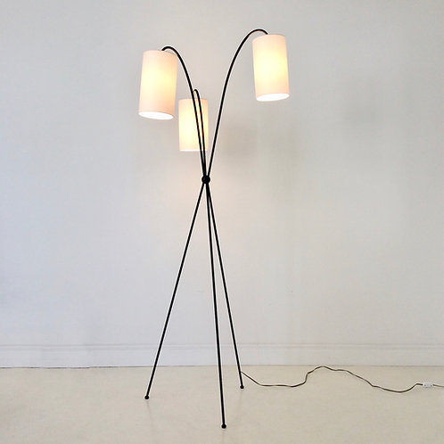 Tripod Floor Lamp, circa 1950, Italy.