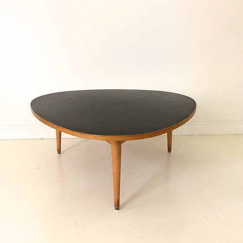 "Max Bill Coffee Table ""Dreirundtish"", 1949, Switzerland."