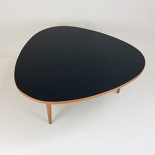 Max Bill Three Circles Coffee Table for Wohnbedarf, circa 1950, Switzerland.