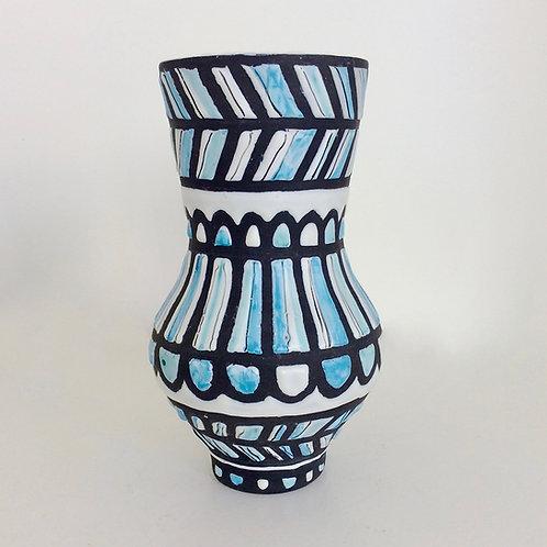 Roger Capron Balustre Vase, 1959, France.