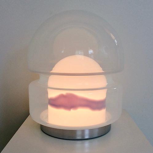 Murano Glass Table Lamp by Carlo Nason for Mazzega, circa 1970, Italy.