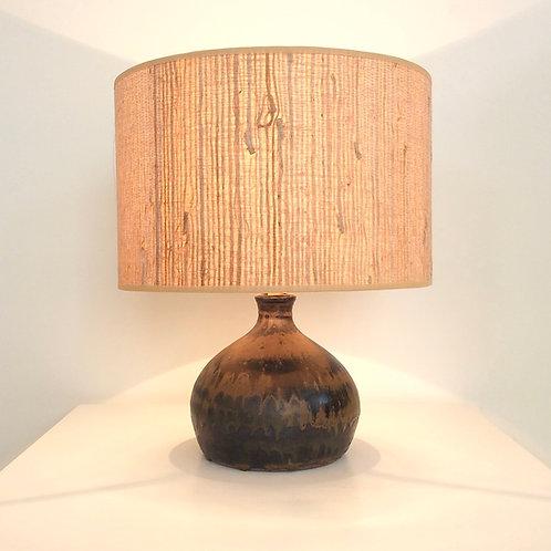 La Borne Ceramic Table Lamp, circa 1970, France.