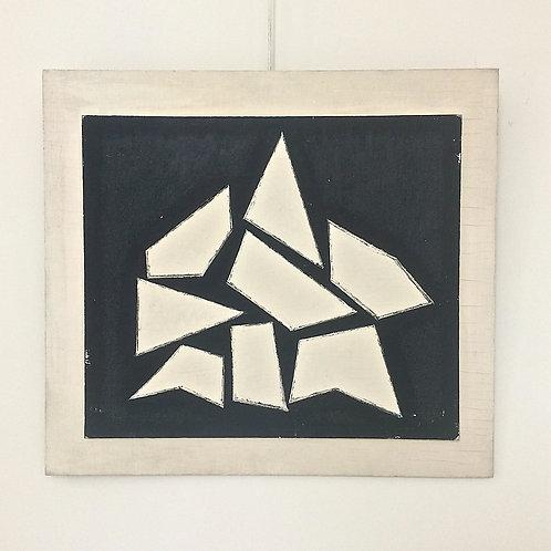 "Jean Legros, ""Composition"",1961, France."