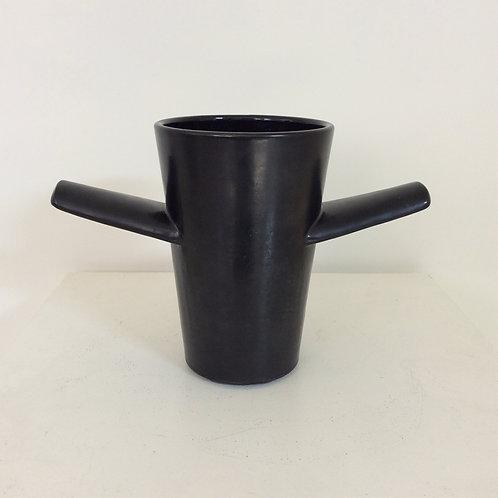 Rare Paul-Ami Bonifas Black Ceramic, circa 1930, France.