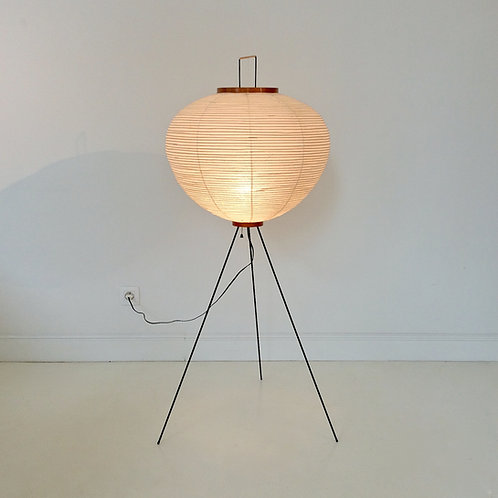 Isamu Nogushi Akari 10A Floor Lamp First Edition, circa 1950, Japan.