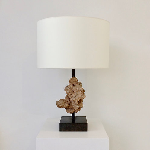 Desert Rose Table Lamp, circa 1970, Belgium.