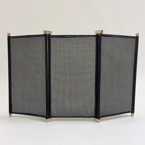 Afra and Tobia Scarpa Adjustable Fireplace Screen, circa 1960, Italy.