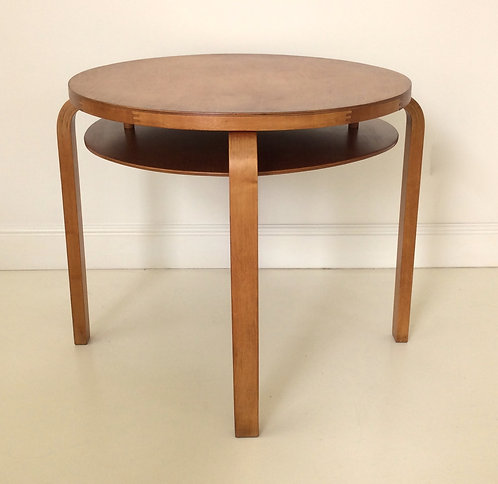 Aalvar Aalto Coffee Table, 70 Model, circa 1933, Finland.
