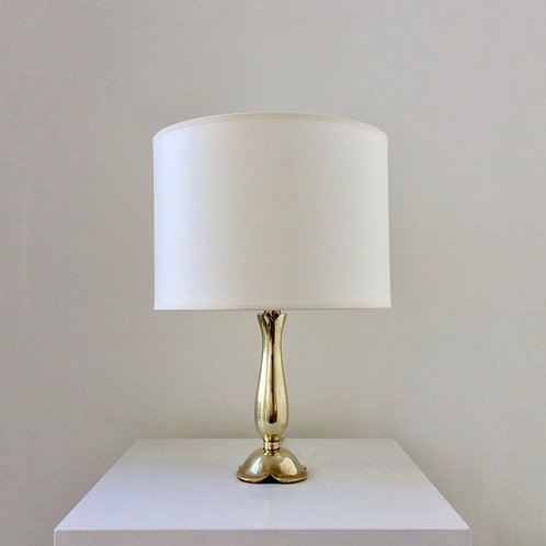 Raoul Scarpa Bronze Table Lamp, circa 1950, France.
