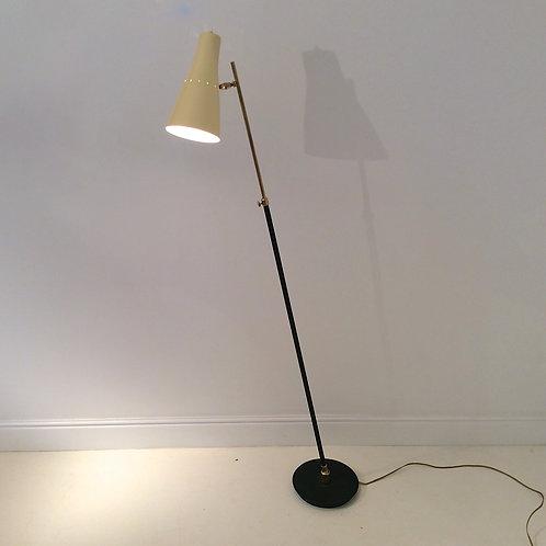 Adjustable Italian Floor Lamp, circa 1950.