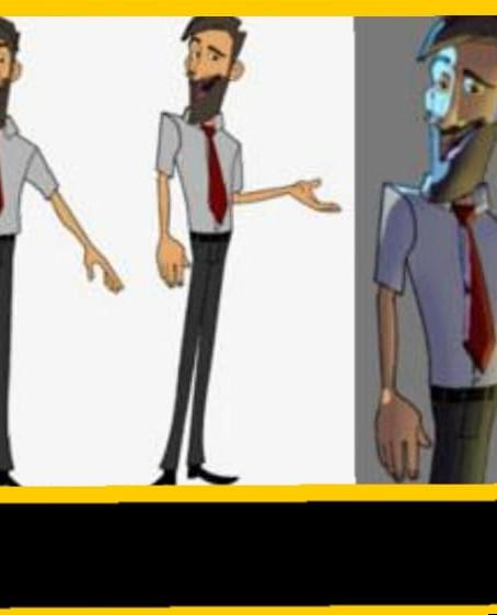 Lipe Diaz é o único brasileiro autorizado a usar o software ToonBoom Animation  em seus cursos