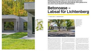 PR-Arbeit: für Gruber + Popp Architekten BDA aus Berlin