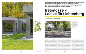 Bauwelt-Veroeffentlichung-erfolgreiche-PR Arbeit-vom-office-for-architectural-thinking-fuer-Gruber+Popp Architekten BDA