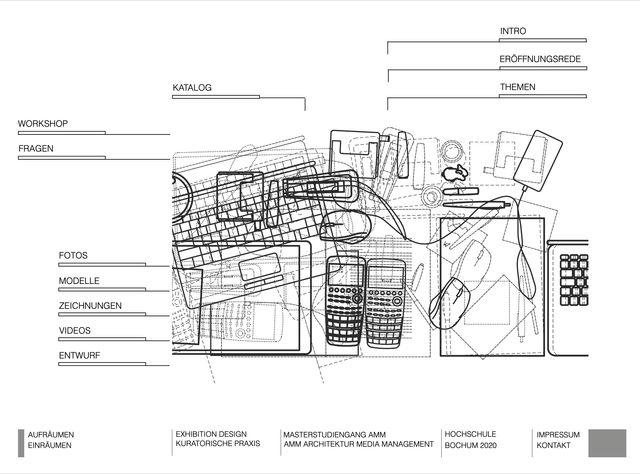 Digital Exhibition: Webdesign für AMM / Hochschule Bochum