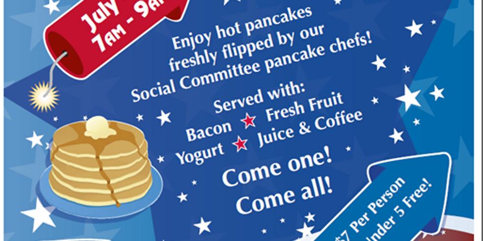 July 4th Pancake Breakfast