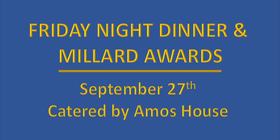 'Oktoberfest' - Friday Night Dinner and Millard Awards