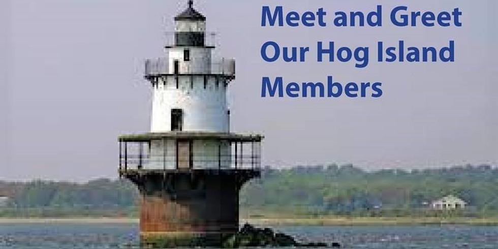 Meet & Greet Hog Island Members Cookout