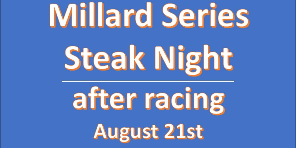 Steak or Swordfish Night